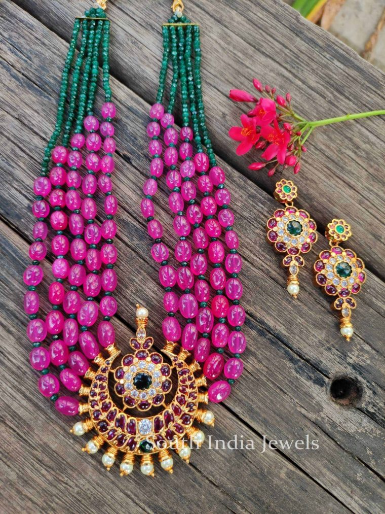 Gorgeous Kemp Necklace and Earrings-1