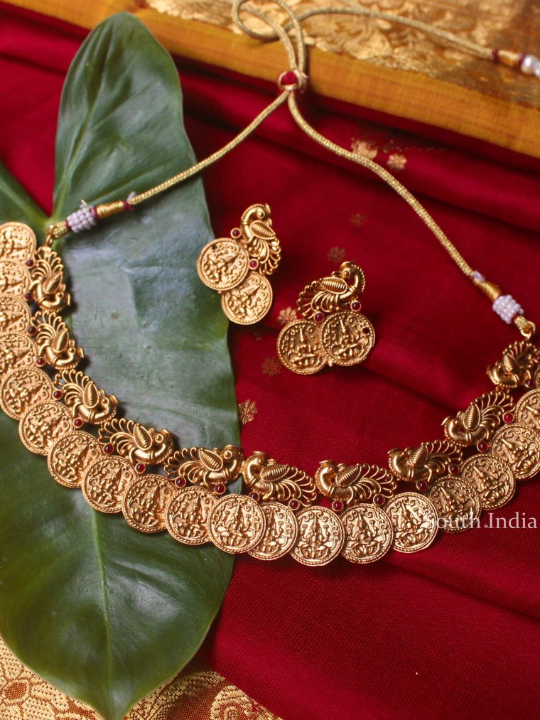Gorgeous Lakshmi Kasu Necklace