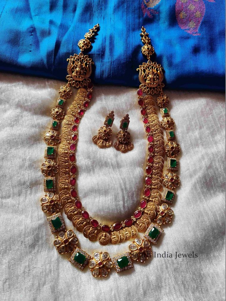 Gorgeous Layered Lakshmi Kasu Haram