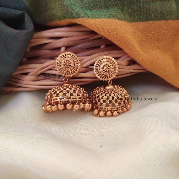 Gorgeous Shivadanair Jhumkas