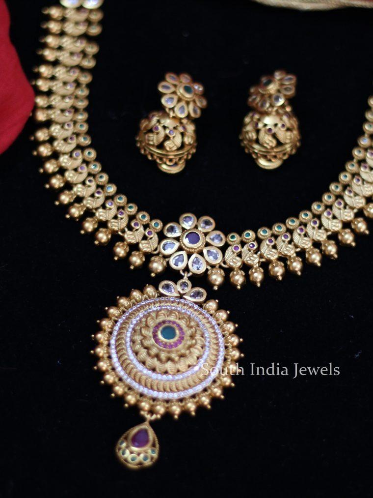 Grand Bridal Chakra Necklace (2)