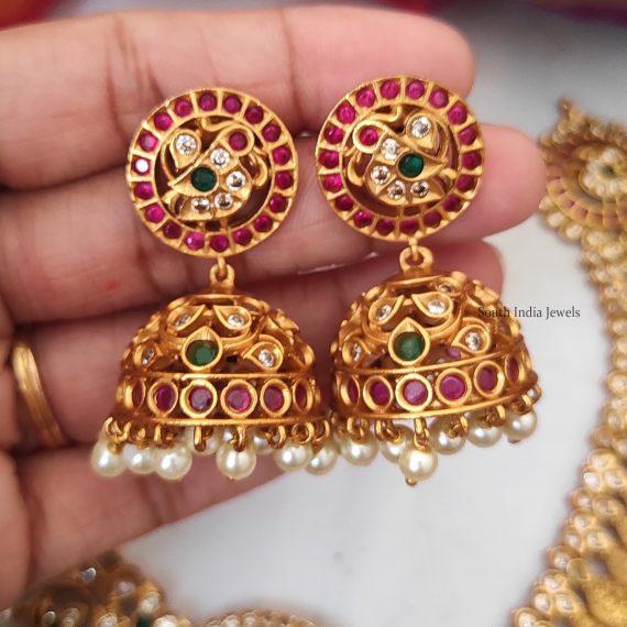 Grand Lakshmi Leaf Coin Necklace
