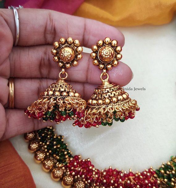 Grand Loreal Guttapusalu Necklace