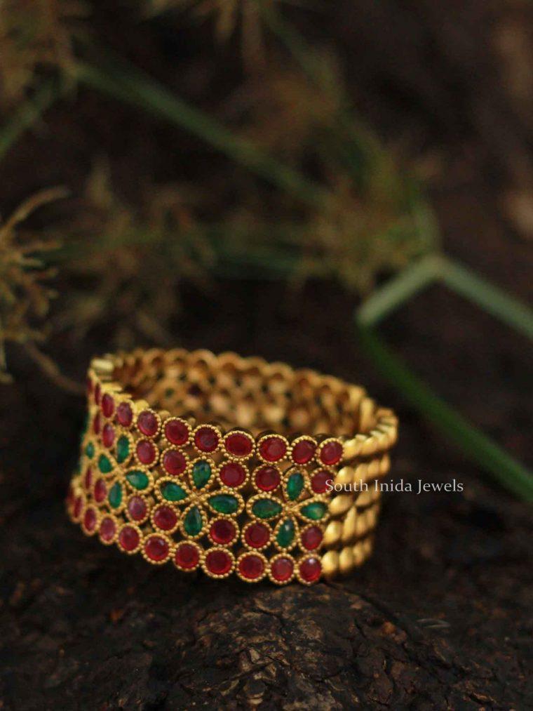 Imitation Red & Green Bangles