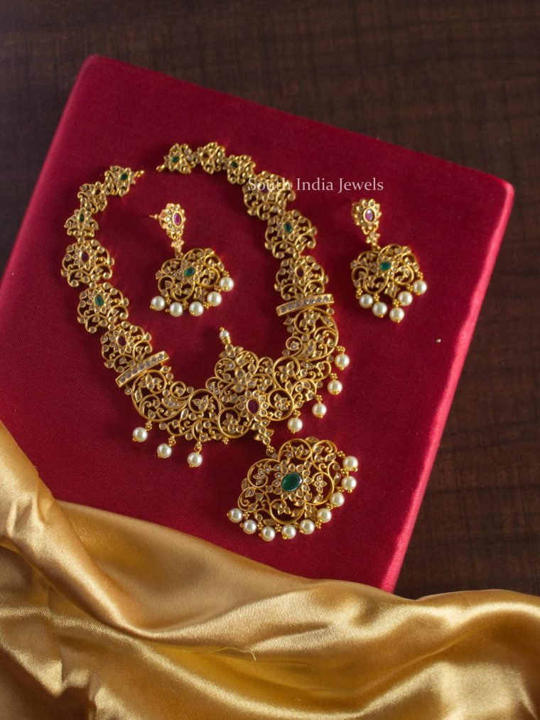 Premium Quality AD Stone Necklace