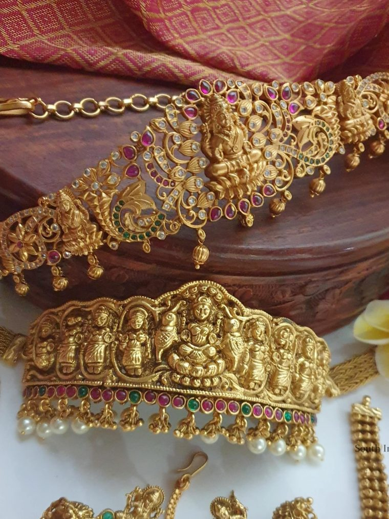Premium Quality Nakshi Work Bridal Combo