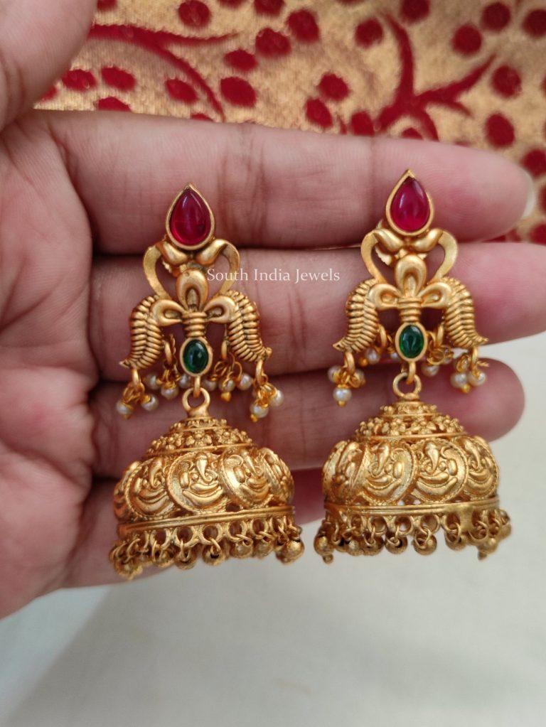 Sparkling Ashta Vinayaka Jhumkas