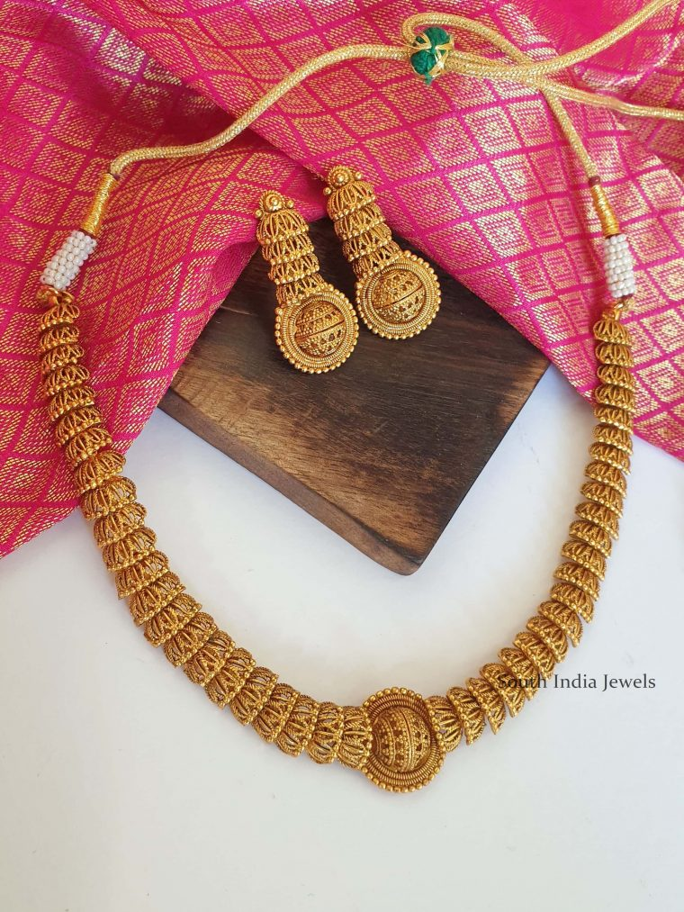 Stunning Antique Necklace and Earrings