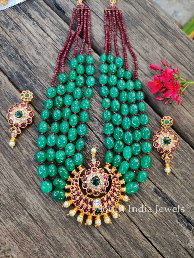 Stunning Beads Kemp Necklace - 1