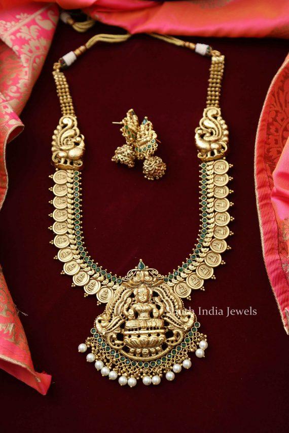 Stunning Lakshmi Coin Haram