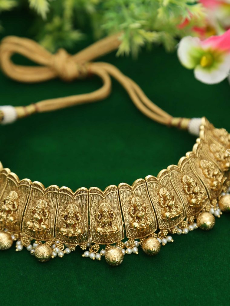 Traditional Lakshmi Choker (2)