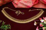 Traditional Lakshmi Coin Hip Belt - 01