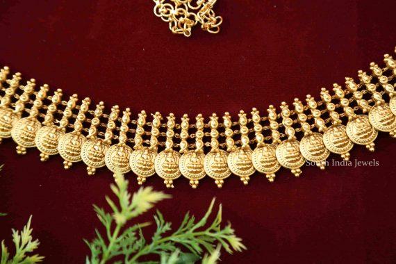 Traditional Lakshmi Coin Hip Belt - 02