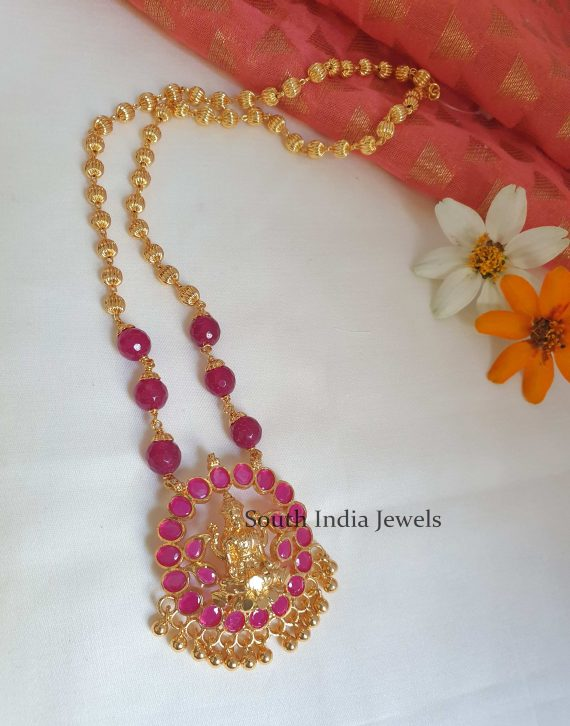 Traditional Lakshmi Necklace (2)