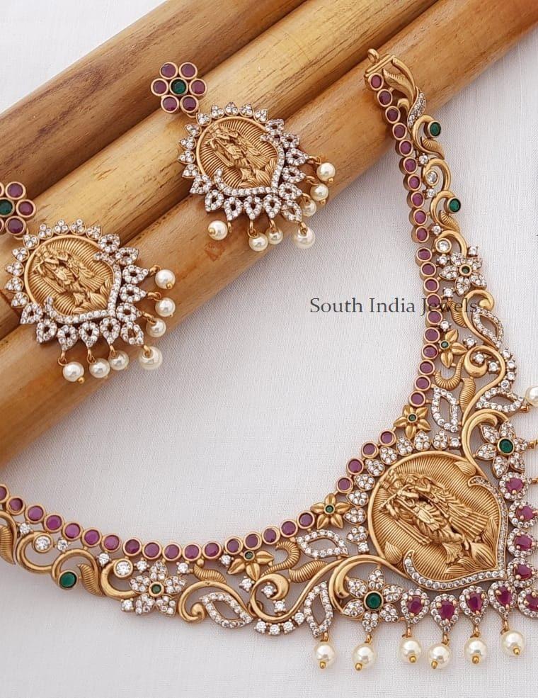 Traditional Radha Krishna Necklace