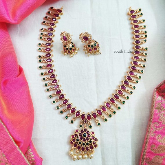 Trendy Kemp Stone Necklace