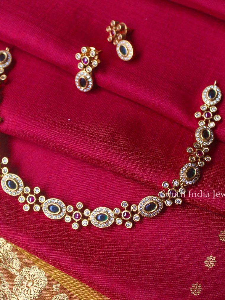 Unique Multi Stone Necklace (2)