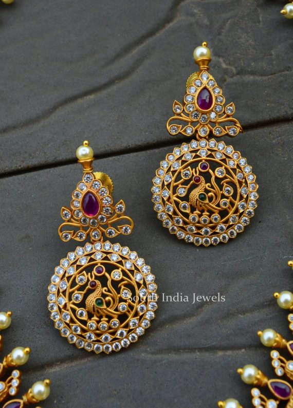 Amazing Bridal Red and Green Stone Combo (2)