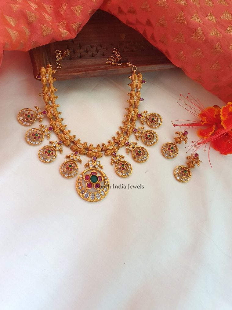 Amazing Chandbali Necklace