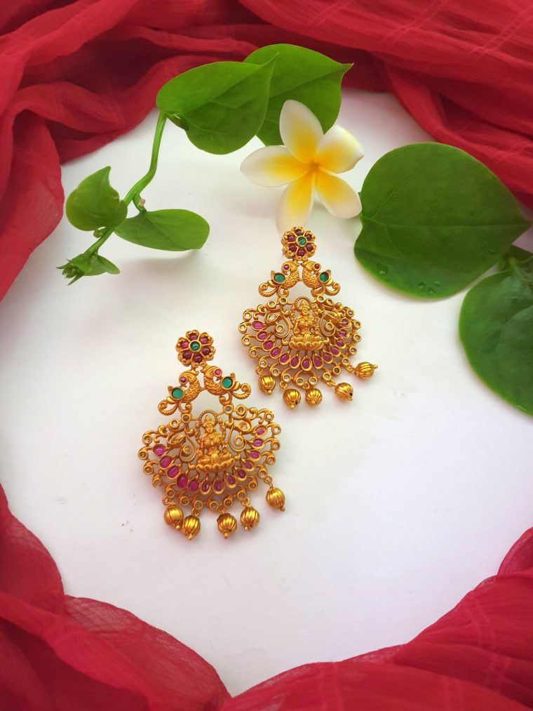 Amazing Lakshmi Designer Earrings