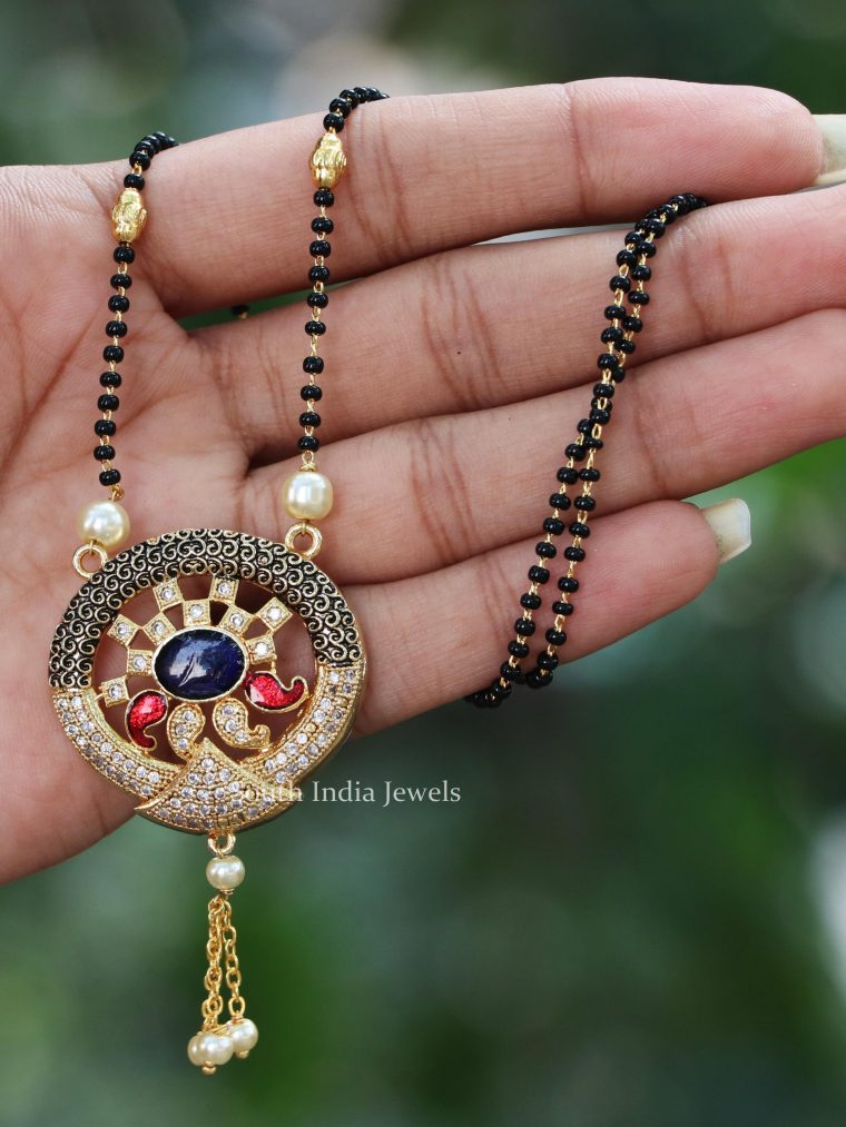 Antique Simple Design Mangalsutra