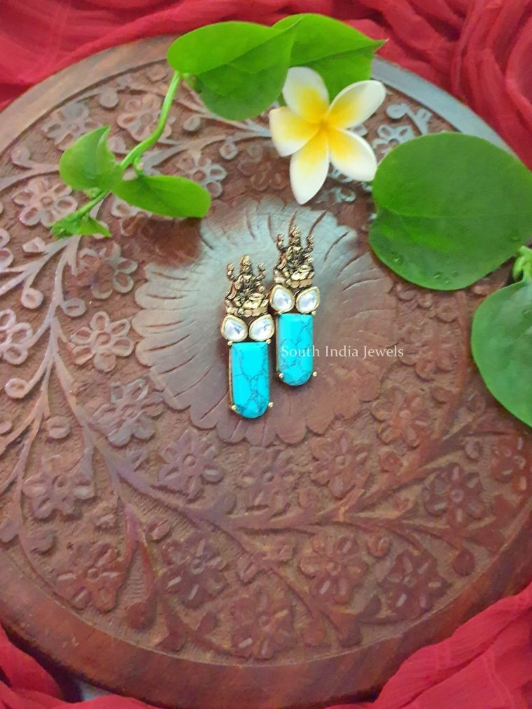 Beautiful Lakshmi Earrings (2)
