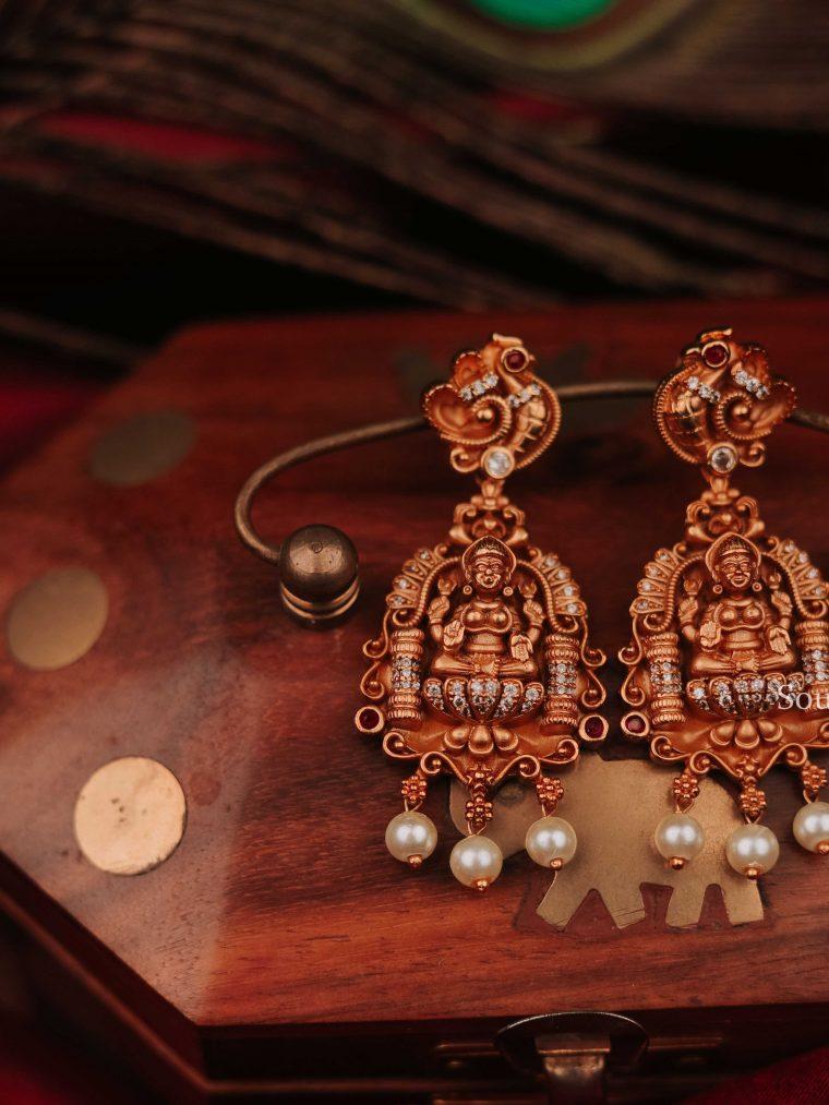 Beautiful Lakshmi Earrings