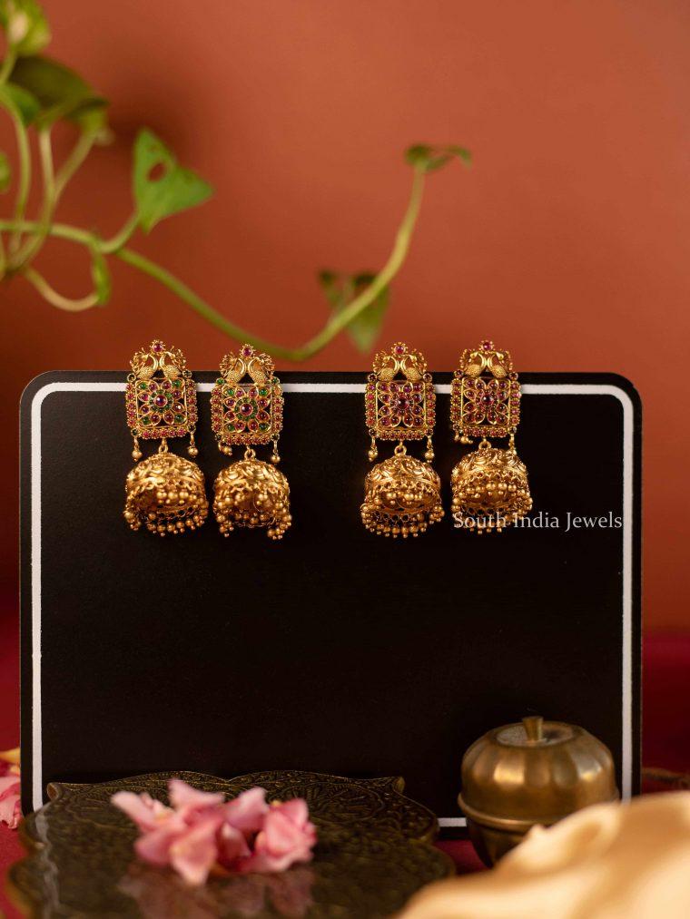 Beautiful Lord Ganesha Design Jhumka