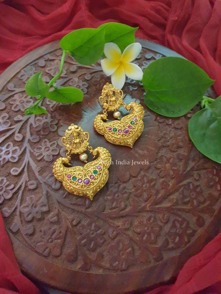 Beautiful Matte Finish Earrings (2)