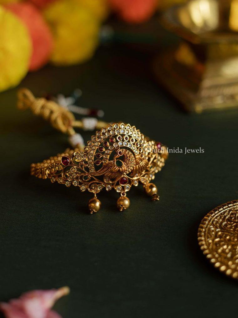 Beautiful Peacock Design Choker