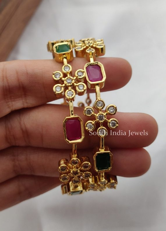 Beautiful Red and Green Bangles (2)
