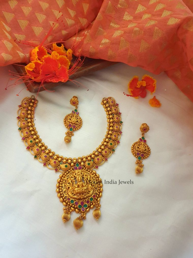 Classic Lakshmi Necklace