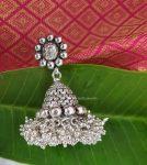 Elegant Cluster Beads German Silver Necklace