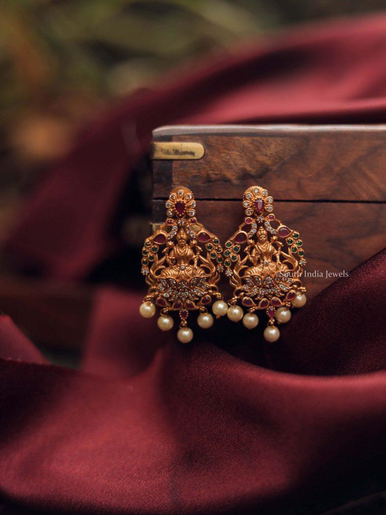 Elegant Temple Lakshmi Drops-01