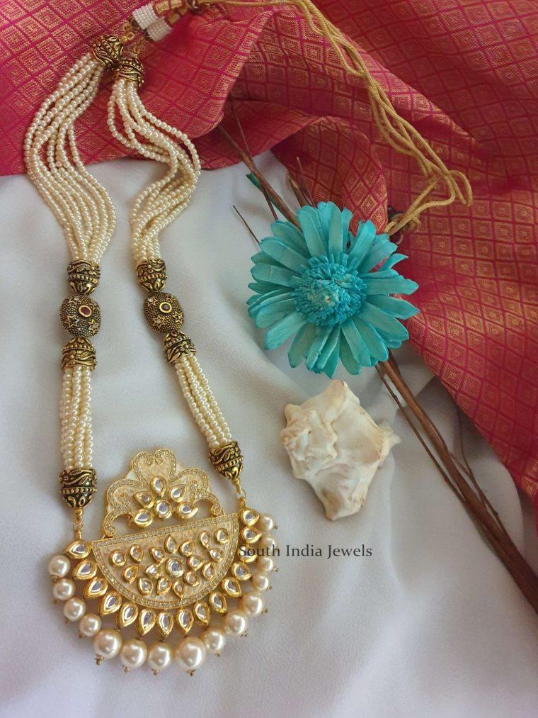 Gorgeous Designer Kundan Pearl Haram