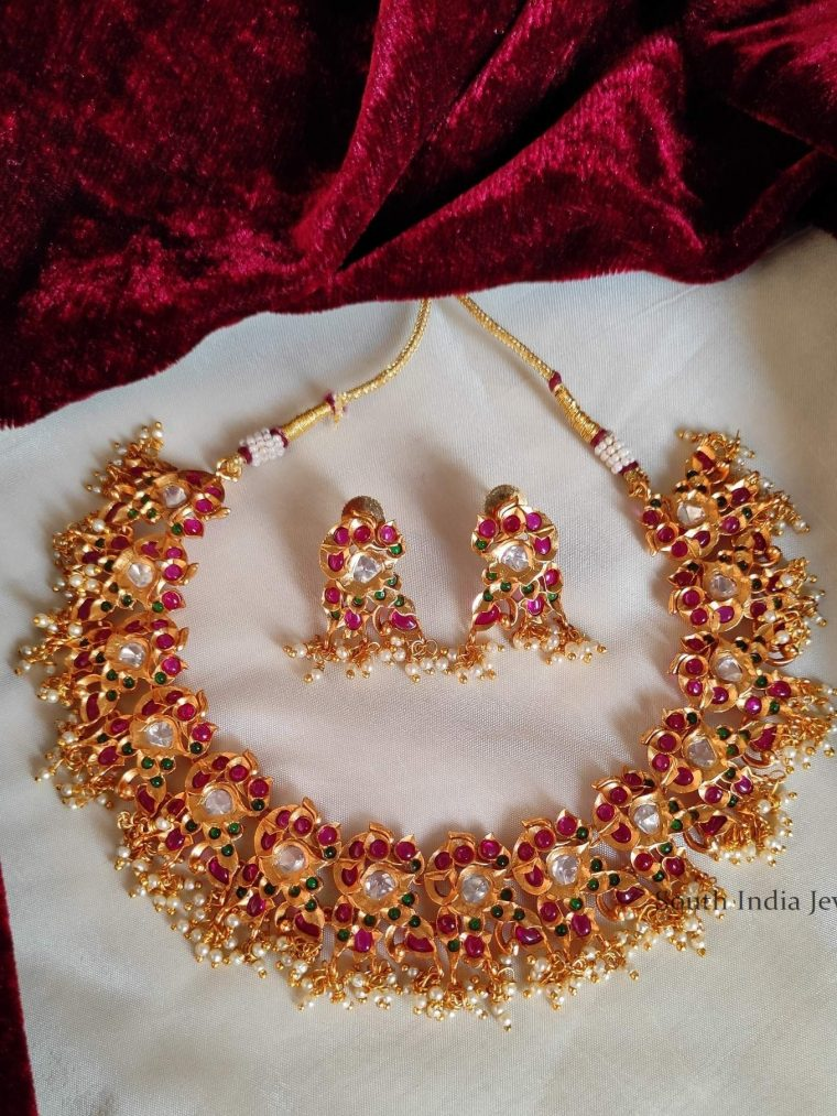 Gorgeous Kemp & AD Stone Necklace