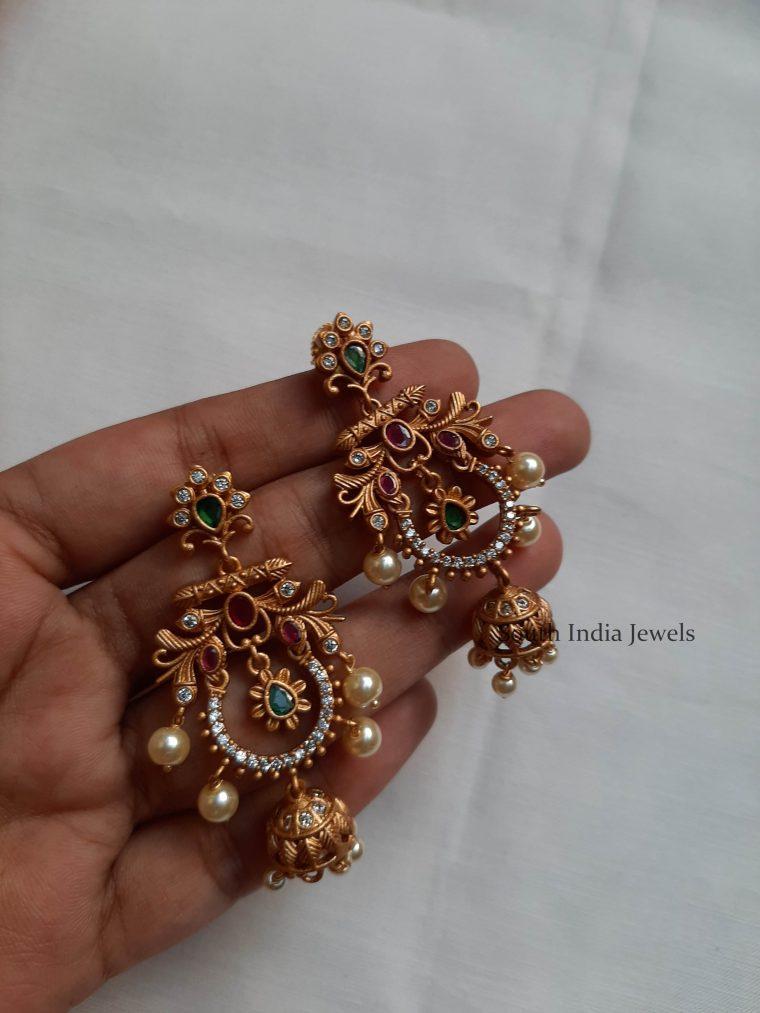 Gorgeous Matte Finish Earrings