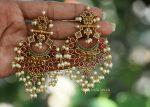 Gorgeous Pearl Cluster Earrings (2)