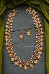 Gorgeous Ram Parivar AD Stone Haram