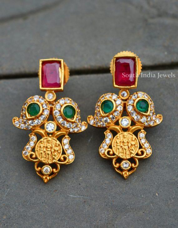 Gorgeous Ram Parivar AD Stone Haram (3)