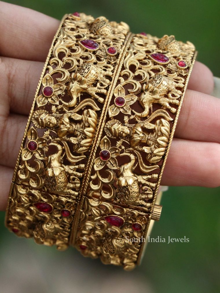 Gorgeous Temple Design Bangles