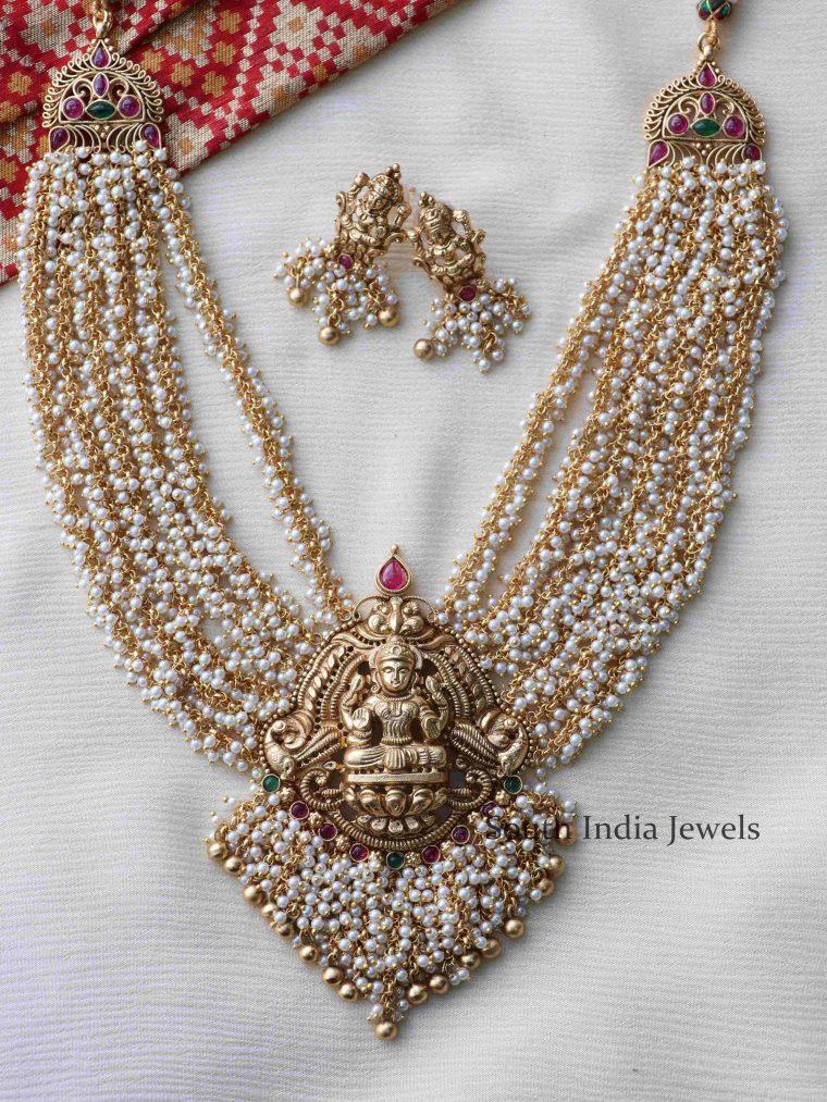 Grand Lakshmi Cluster Necklace (2)