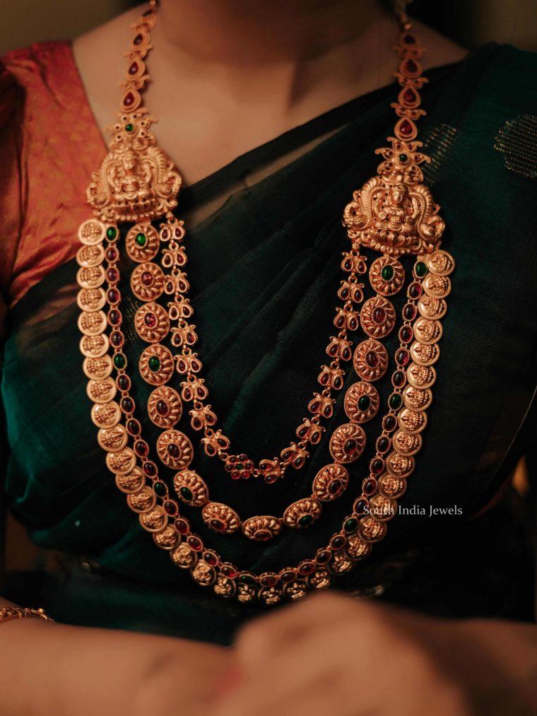 Grand antique bridal haram-01