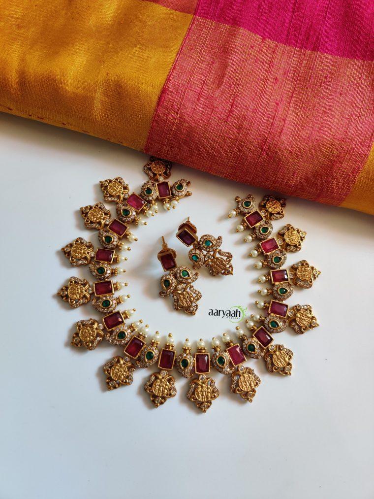 Matte Finish Ramparivar Necklace-01