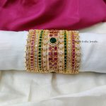 Mesmerizing Multi Stone Bangle Set (2)