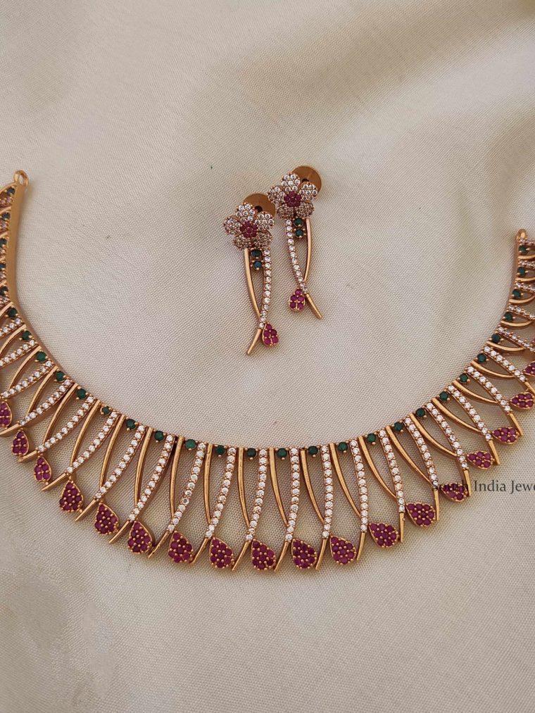 Premium Mallu Design Necklace-01