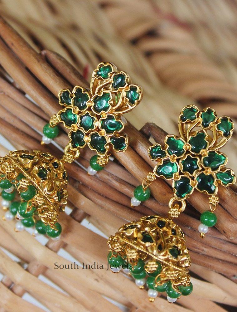 Pretty Green Kemp Jhumka