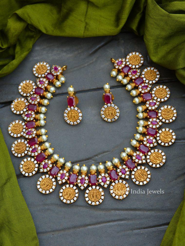 Pretty Ram Parivar Necklace