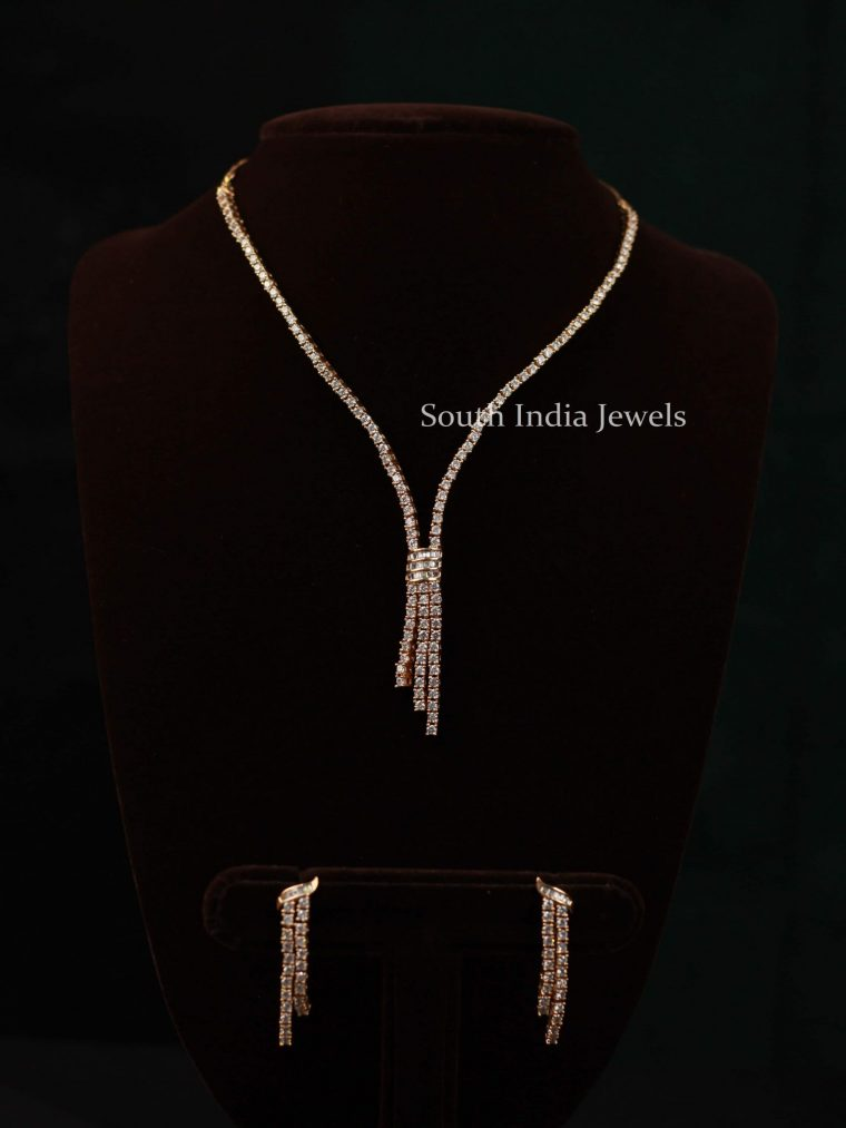 Sleek and Simple Necklace Set