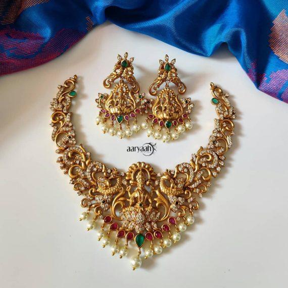 Tradition Goddess Lakshmi Choker Set-01